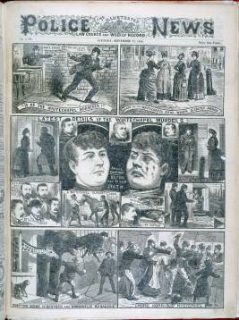 The Illustrated Police News covers the Whitechapel Murders.